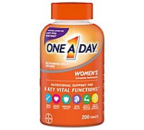 One A Day Womens Multivitamin/Multimineral Tablets Womens Formula - 200 Count
