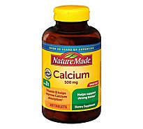 Nature Made Calcium 500 Mg With Vitamin D - 300 Count