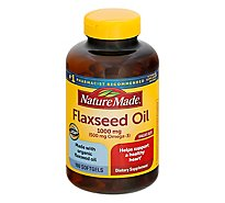 Nature Made Flaxseed Oil 1000 Mg - 180 Count