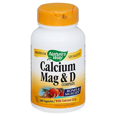 Natures Way Calcium Magnesium D - 100 Count
