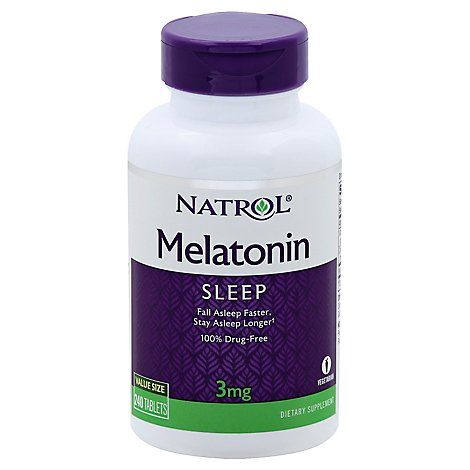 Natrol Melatonin 3 Mg - 240 Count