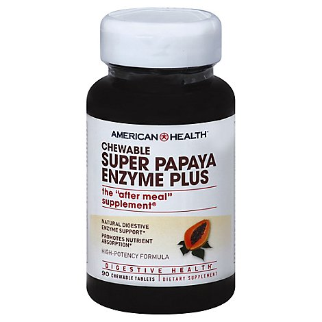 American Health Papaya Enzyme - 90 Count