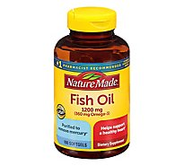 Nature Made Fish Oil Softgels 1200 mg - 100 Count