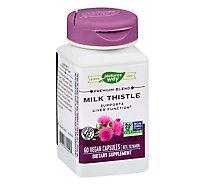 Natures Way Milk Thistle - 60 Count