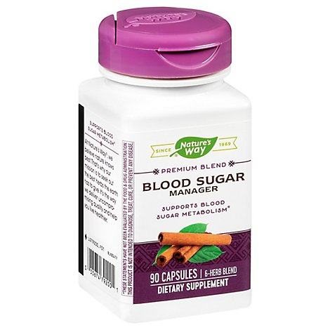 Natures Way H F Blood Sugar - 90 Count