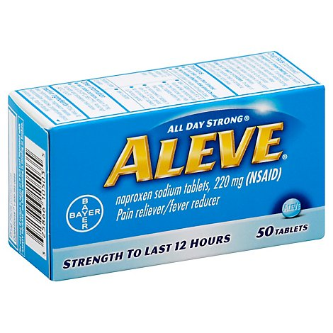 Aleve Naproxen Sodium Tablets - 50 Count