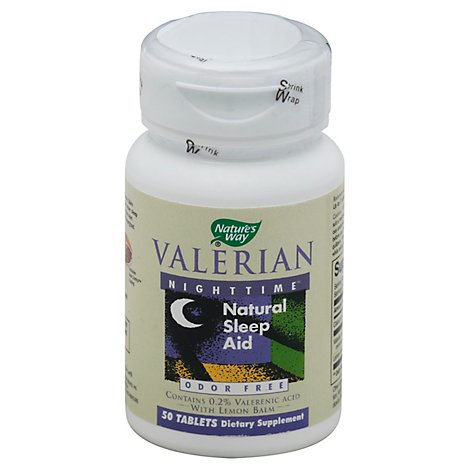 Nway Valerian Nighttime - 50Count