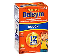 Delsym Childrens Cough Medicine 12 Hour Orange Flavored - 3 Fl. Oz.