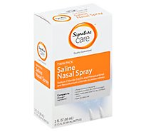 Signature Care Nasal Spray Salin Daily Use Twin Pack - 2-1.5 Fl. Oz.