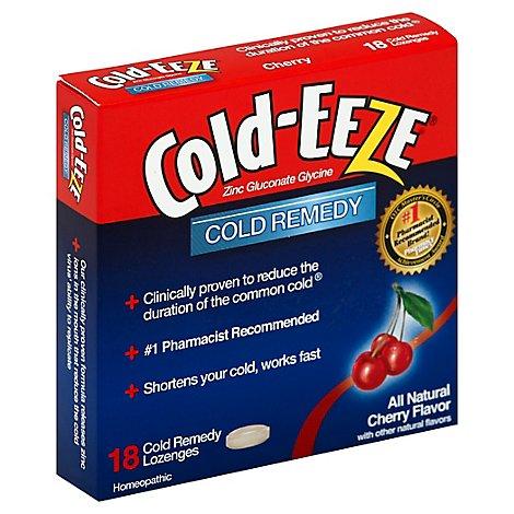 Cold-EEZE Cold Remedy Zinc Lozeng