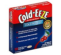 Cold-EEZE Cold Remedy Zinc Lozenges Cherry Flavor - 18 Count