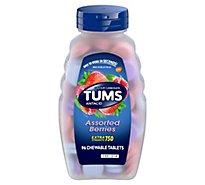 Tums Antacid Tablets Chewable Extra Strength 750 Assorted Berries - 96 Count