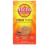 Meta Fiber Wafers Multi Grain Cinnamon Spice 12 Count - 9.3 Oz