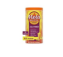 Metamucil Fiber Supplement 4 In 1 MultiHealth Powder Orange - 30.4 Oz