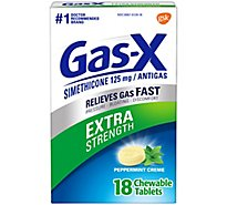 Gas-X Anti Gas Tablets Peppermint Creme - 18 Count