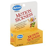 Hylands Motion Sickness - 50 Each