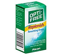Opti Free Replenish Rewetting Drops - 0.33 Fl. Oz.