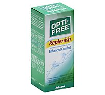 Opti Free Replenish Disinfecting Solution Multi-Purpose Sterile - 4 Fl. Oz.