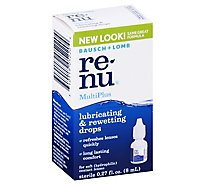 Bausch + Lomb Renu Multi Plus Drops - .27 Fl. Oz.