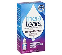 Thera Tears Eye Drops Dry Eye Therapy Lubricant - 0.5 Fl. Oz.
