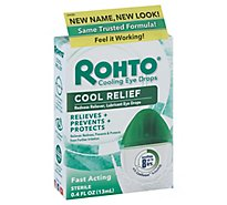 Rohto Eye Drops Lubricant Redness Relief - 0.4 Fl. Oz.