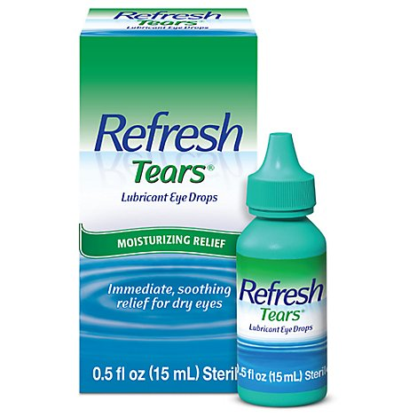 Refresh Tears Allergan Eye Drops Lubricant - .5 Fl. Oz.