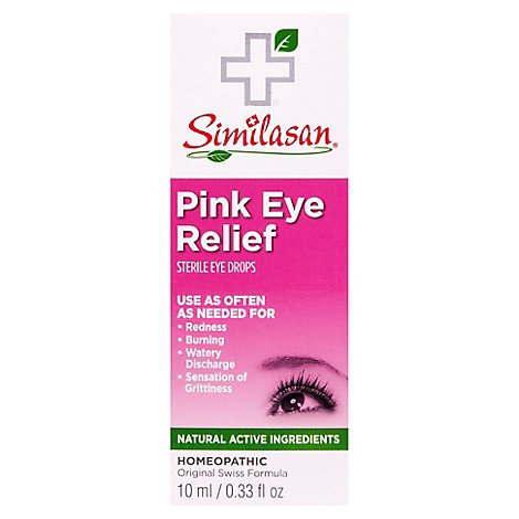 Similasan Pink Eye Relief Ey - Online Groceries | Tom Thumb
