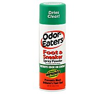 Odor Eaters Foot & Sneaker Spray Powder - 4 Oz