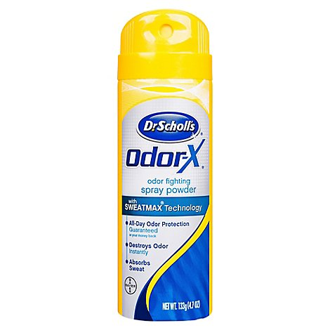 Dr. Scholls Odor Destroyers Deodorant Spray - 4.7 Oz