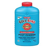 GOLD BOND Foot Powder Medicated Maximum Strength - 10 Oz