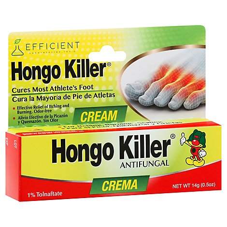 Hongo Killer Foot Cream - 0.5 Oz