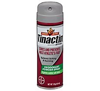 Tinactin Antifungal Deodorant Powder Spray - 4.6 Oz