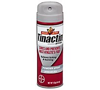 Tinactin Antifungal Powder Athlete Foot Spray - 4.6 Oz