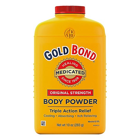 GOLD BOND Body Powder Medicated Original Strength - 10 Oz