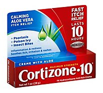 Cortizone 10 Anti-Itch Creme Maximum Strength - 1 Oz