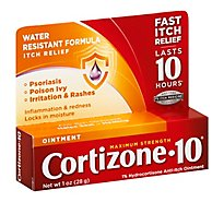 Cortizone 10 Anti-Itch Ointment Maximum Strength - 1 Oz