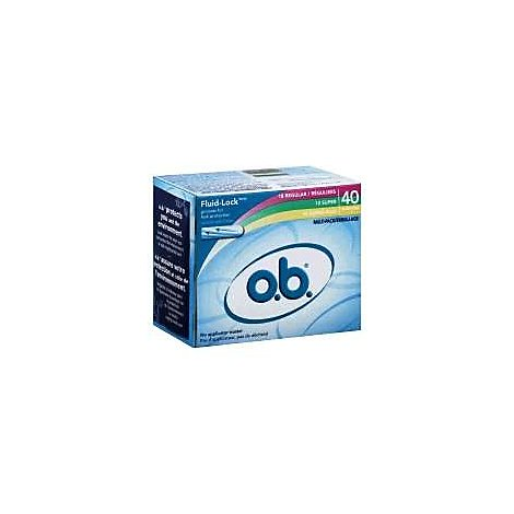 O.B. Multi Pack Tampons - 40 Count
