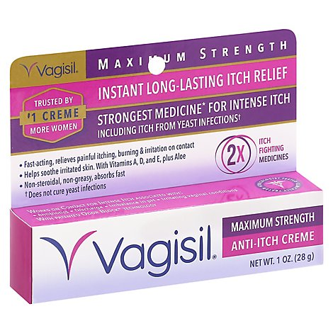 Vagisil Anti-Itch Creme Maximum Strength - 1 Oz