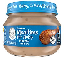 Gerber 2nd Foods Baby Food Chicken & Chicken Gravy - 2.5 Oz
