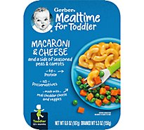Gerber Macaroni & Cheese with Seasoned Peas & Carrots Tray 6.6 Oz