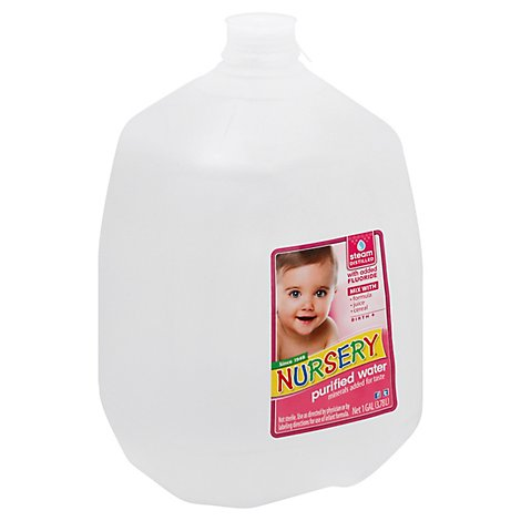 Nursery Purified Water With Flouride - 1 Gallon