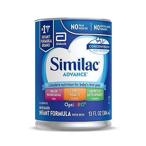 Similac Advance Infant Formula with Iron Concentrated Liquid - 13 Fl. Oz.