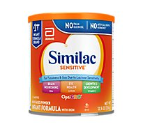 Similac Sensitive For Fussiness and Gas Infant Formula with Iron Powder - 12 oz