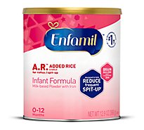 Enfamil A.R. Infant Formula Milk Based With Iron For Spit Up Powder Can - 12.9 Oz