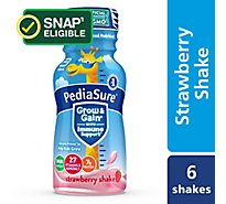 PediaSure Grow and Gain 6 pk Kids Nutritional Shake Ready-to-Drink Strawberry - 8 fl oz