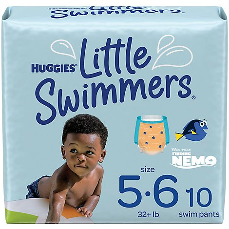 Huggies Little Swimmers Swimpants Disposable Finding Dory Large - 10 Count