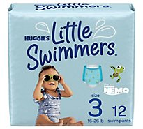 Huggies Little Swimmers Disposable Swim Pants Small - 12 Count