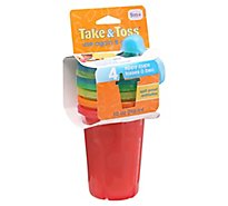 The First Years Take & Toss Sippy Cups 10 Ounce 9M+ - 4 Count