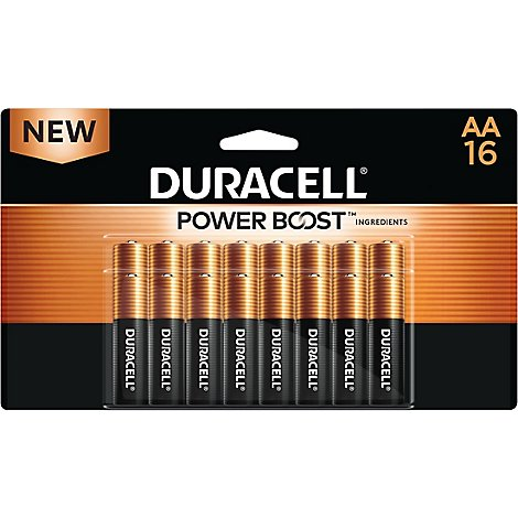 Duracell CopperTop AA Alkaline Batteries - 16 count