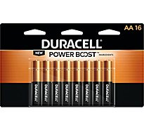 Duracell Batteries AA Duralock - 16 Count
